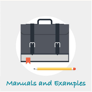 button manuals and examples